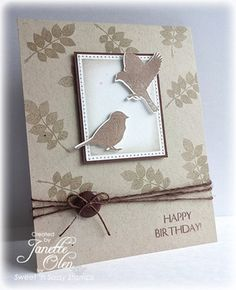 Nature Silhouettes 2 Clear Stamp Set