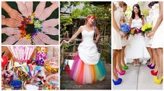 12 Creative Ways to Make Your Wedding Pop With Color