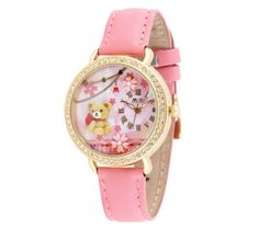 Baby Pink 3D Mini World Watch - Lovely Teddy via Fashionista Secret Shop. Click on the image to see more!
