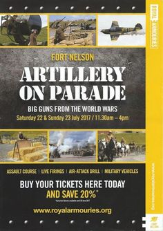 Artillery on Parade - Fort Nelson, Portsmouth