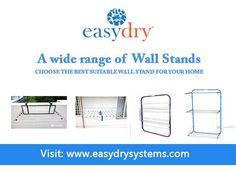 It's easy, space saving and elegant. No huss and fuss, clothes drying stands that everyone can use. Clothes Drying Racks, Clothes Line, Floor Space, Hostel, Wall, Guest Houses, Suits, Innovation, Range