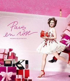 Lancome Holiday 2016 Paris En Rose Collection