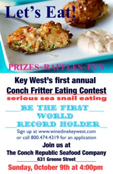 conch fritter eating contest