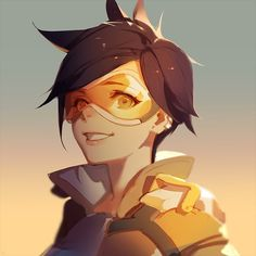 Overwatch, Tracer, by ask