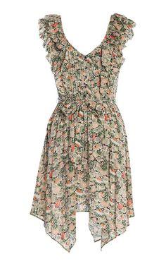 Nasturtium Dress from Fleur Wood-the most beautiful print $265
