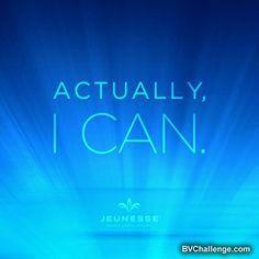 Actually I can. bv yahsuccessblog.com #yahsuccess #optimism #ican