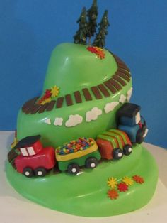 Frosted Insanity: I Think I can - Little Train Cake
