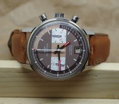 Montre Chronographe DUGENA Valjoux 7734 New Old Stock Vintage Watch Chronograph    eBay