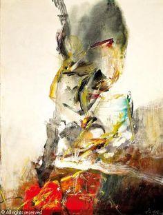CHUANG CHE - Variation on Shesshu's Broken Ink Landscape 2003