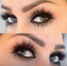 Love her eyes and these lashes!