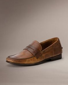Frye - Lewis Leather Penny Loafer
