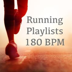 Here are lists of #running songs that are all around 180 BPM. Browse through these playlists from different genres including pop, rap/hip hop, country, and rock.