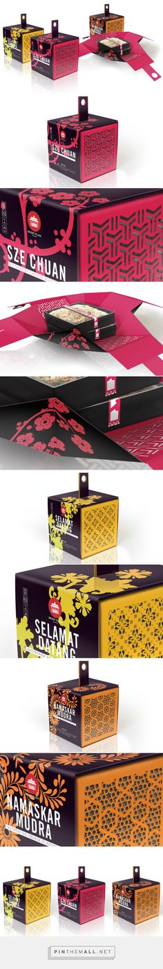 Oriental #Packaging #Design #Concept by Reynhard. Communication Design - http://www.packagingoftheworld.com/2014/12/oriental-packaging-design-concept.html
