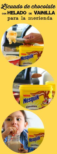 AD Prepara este licuado de chocolate con helado de vainilla para la merienda con NESTLÉ® NESQUIK® Powder de @nesquikusa y ofrece a tus hijos un vaso de potencial ilimitado: http://wp.me/p54459-2rq #StirImagination #CollectiveBias