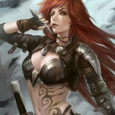 """""""Come on, live a little... while you can!"""" #katarina #LeagueOfLegends"""