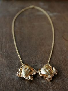 Image of Double Crab Pendant