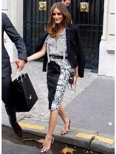 Olivia Palermo - Celebrity Fall Street Style 2012 - Real Beauty