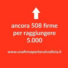 ➡➡ ➡ ancora 508  firme per raggiungere 5.000 🎯 #UnaFirmaPerLaVulvodinia http://buff.ly/2hkuCMz