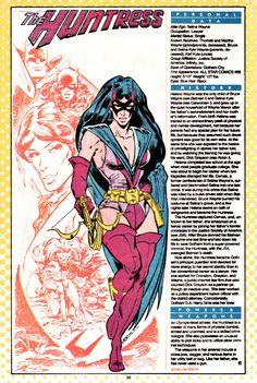 DC Comics Showcase, Who's Who entry: Huntress by Joe Staton.
