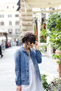 48 Hours in Florence, Pisa + Rome - New Darlings Europe Travel Log - Zara Dress - Madewell Denim Jacket