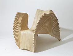 sièges sculptures, Alaxander White, Monroe Chair, ©alexanderwhite