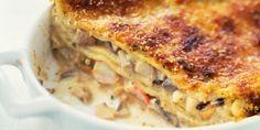 Lasagnes aux fruits de mer