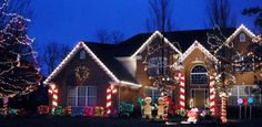 Everyone will have visions of sugarplums dancing in their heads with the Cramer's Spectacular Gingerbread House at 409 Morgan Lane in Fox River Grove, Tom Cramer says. The handmade giant candy canes aglow and the life-size gingerbread people, colorful sparkling gum drops, shimmering candy and lollipops look good enough to eat.