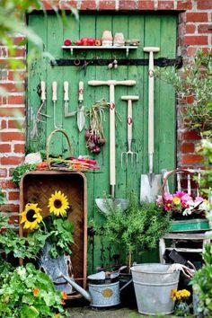 garden vignette!