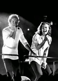 Niall's glowing cause he's an angel and Harry's looking over and smiling because he knew it was true the whole time.