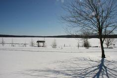 Vue du réservoir Choinière, Parc national de la Yamaska, Québec, mars 2017 Mars 2017, Parc National, Snow, Outdoor, Outdoors, Outdoor Games, The Great Outdoors, Eyes, Let It Snow