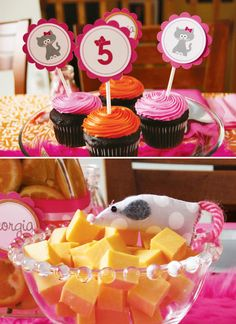 Cute Kitty Cat Party {Girl's Birthday} // Hostess with the Mostess®
