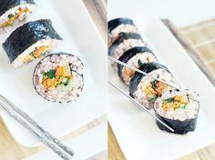 1. Brown Rice Kimbap | Community Post: 10 Sushi Recipes To Make At Home!