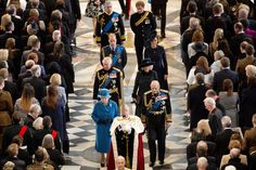 Britain's Royals Attend Service of Commemoration at St Paul's Cathedral, 3/13/15