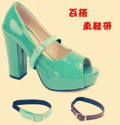 C$ 2.74 / Paire Pas cher New Design 12 Colors Convenient Patent Leather Shoe Belt Ankle Elastic Shoe Tie For Women Free Shipping, Acheter  Lacets de qualité directement des fournisseurs de Chine:                        Besoins des clients à savoir                            1) S'il vous plaît assur