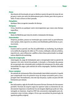Página 345  Pressione a tecla A para ler o texto da página