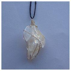 Arkansas clear quartz necklace