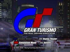 Gran Turismo title screen