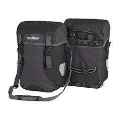 Ortlieb SportPacker Plus QL21 Panniers pair GRANITEBLACK F4904 >>> Click image for more details. This is an Amazon Affiliate links.