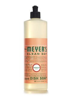 I love Mrs. Meyer's dish soap. My hands get really dry in the winter, and this is easier on the wintry dry skin. Geranium is my favorite scent of all of their products, but I also use Lavender and enjoy their holidays scents. I've put it in gift bags with other gifts. Try it!
