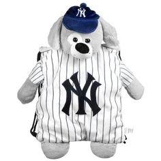 New York Yankees Mlb Plush Mascot Backpack Pal