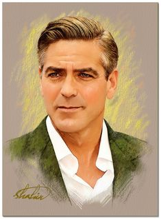George Clooney by shahin