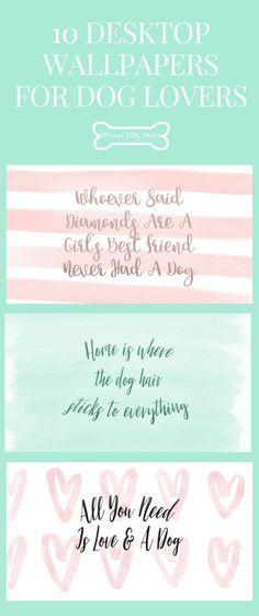 FREE DOWNLOAD: 10 Desktop Wallpapers For Dog Lovers   Gifts For God Lovers   Dog DIY  