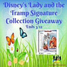 Disney's Lady and the Tramp Signature Collection Giveaway - SaraLee's Deals Steals & Giveaways