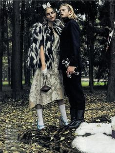 Marc Jacobs Fall '15 for Modern Lady China December 2015