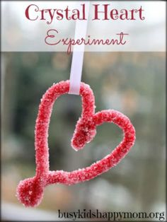 Crystal Heart Science Experiment