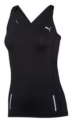 $30 - Puma Women's PR Pure Fitted Tank Black #puma