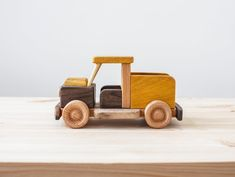 Wooden Pickup Truck Personalized Toy Truck Truck Vintage | Etsy