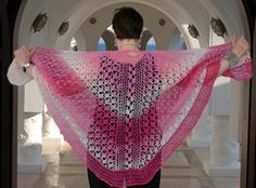 Bed of Roses Shawl Pattern