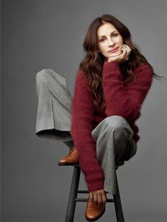 fashion icons in cozy sweaters - Google Search