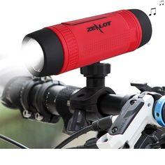 Portable Waterproof Bluetooth Speaker and Powerbank for Bicycle